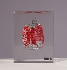 """Dosenskulptur Cola Rot"" (2016) (Unikat)"