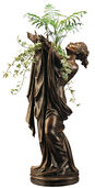 "Statuette ""Goddess Flora"" (with Vase attachment), version in bronze"