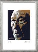 "Bild ""Konrad Adenauer"", gerahmt"