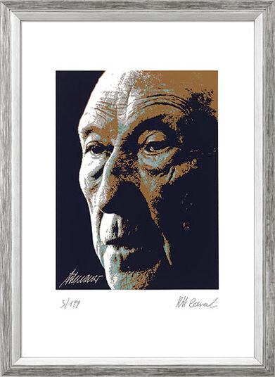 "Karl-Heinz Laval: Bild ""Konrad Adenauer"", gerahmt"