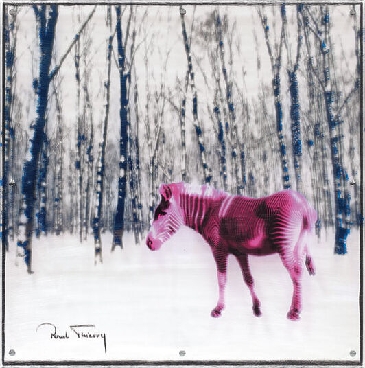 "Paul Thierry: Painting ""Black Shawl"" (2013)"