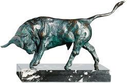 """Sculpture """"Attacking bull"""", bronze"""