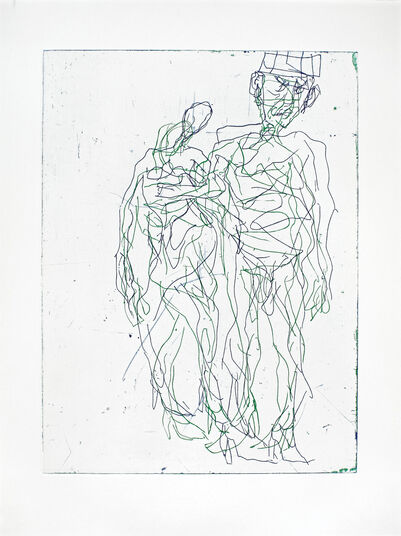 "Georg Baselitz: Bild ""Sing Sang Zero II"" (2012)"