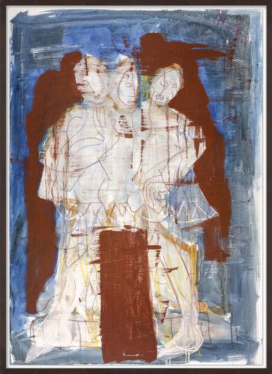 """Armin Mueller-Stahl: Bild """"Drei Schwestern (Tschechow)"""" (2007) (Unikat)"""