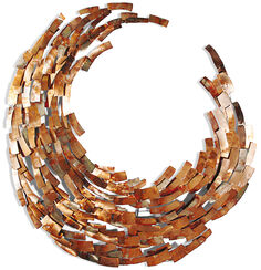"Wall sculpture ""Elliptical"""