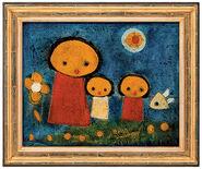 "Bild ""Nel giardino"" (2006) (Original / Unikat), gerahmt"