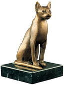 Cat figurine of the goddess Bastet