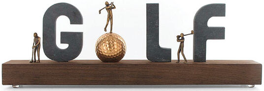 Kerstin Stark: Sculpture 'Golf'