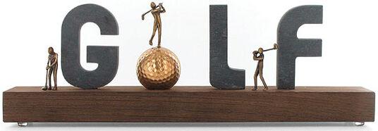 "Kerstin Stark: Skulptur ""Golf"""