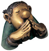 "Sculpture ""The Novice"", bronze"