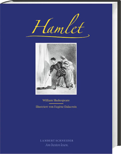 "William Shakespeare: ""Hamlet"", illustriert von Eugène Delacroix"