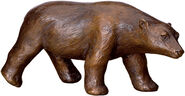"Sculpture ""polar bear"", bronze"