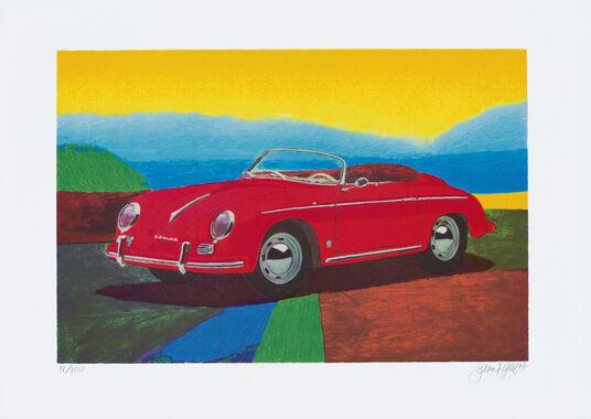 """James Francis Gill: Bild """"Porsche 356 Speedster"""" (2016)"""