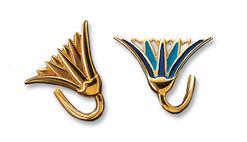 Lotus Blossom pierced earrings