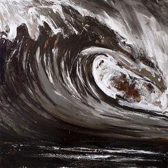 "Bild ""Dark Swell 9"" (2015) (Unikat)"