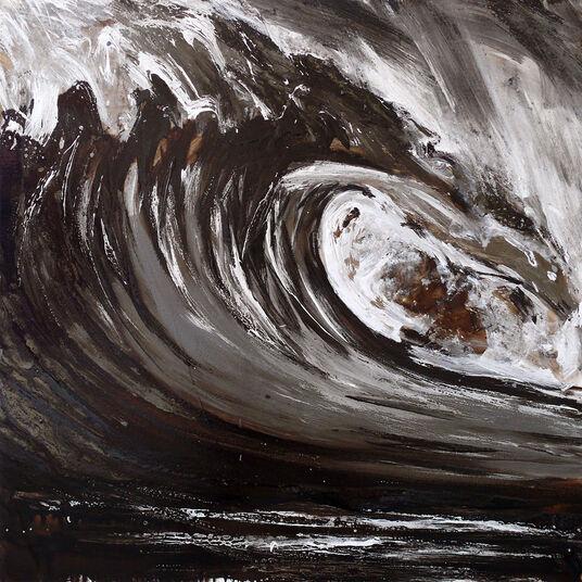"Ralf Koenemann: Bild ""Dark Swell 9"" (2015) (Unikat)"