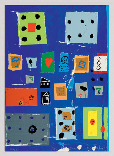 "Roger Selden: Picture ""Poka dot Blues"""