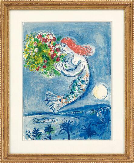 """Marc Chagall: Bild """"Die Engelsbucht"""" (1962)"""