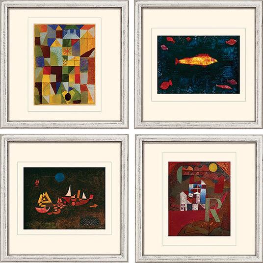 Paul Klee: 4 Bilder im Set