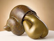 "Sculpture ""Solitudine"", bronze"