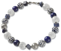 "Collier ""Crystal Delft"""