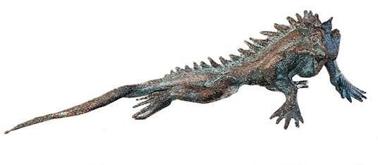 Bronze-Gecko