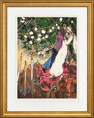 "Bild ""Die drei Kerzen"" (1938-40), gerahmt"