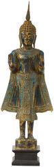 """Holzstatue """"Stehender Buddha"""""""
