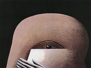 "Bild ""Halber Kopf"" (1974), ungerahmt"