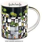 "Magic Mug ""KunstHausWien"", Porzellan"