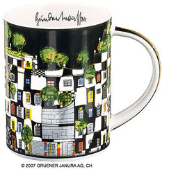 "Magic Mug ""KunstHausWien"", porcelain"
