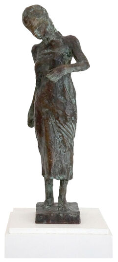 """Thomas Jastram: Skulptur """"Kleine Thurgauer Jungfrau"""" (2014)"""