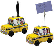 "Set of 2 ""Taxi"", porcelain"