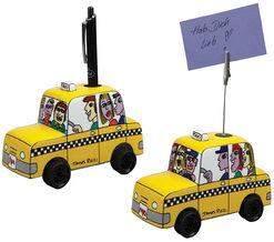"Set of 2 ""Taxi"", porcelain"
