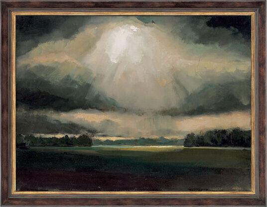 "Lutz Friedel: Bild ""Nach dem Regen"" (1999/2000) (Unikat)"