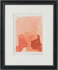"Bild ""Komposition in Rosa"" (1964) (Unikat)"