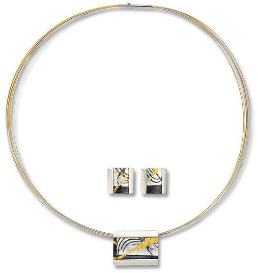 Kreuchauff-Design: Jewelry set 'Evening of Gold'