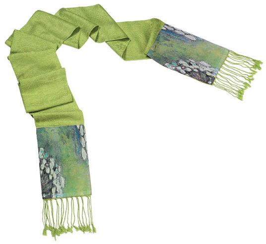 Petra Waszak: Pashmina scarf 'Nympheas'