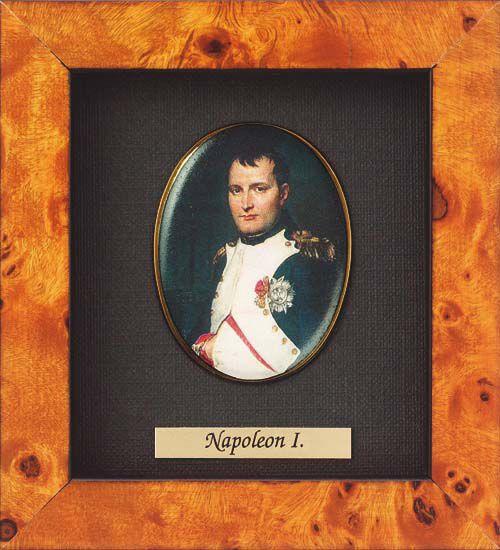 Miniature portrait of Napoléon Bonaparte (1769-1821)