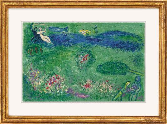 """Marc Chagall: Bild """"Der Lustgarten"""" (1960/61)"""