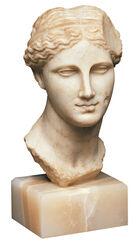 Portraitkopf der ptolemäischen Königin Arsinoe II., als Aphrodite