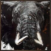 "Bild ""Elefant 71"" (2016) (Unikat)"