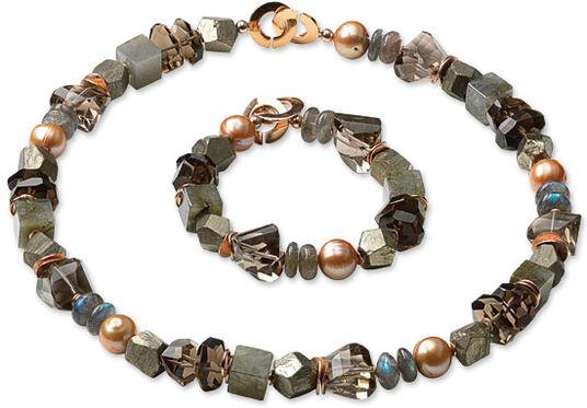 "Marc Kolsters: Jewelry set ""Variety"""
