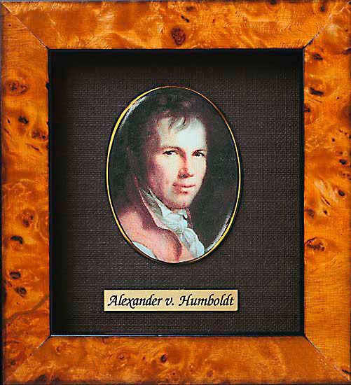 Miniature portrait of Alexander von Humboldt (1769-1859)