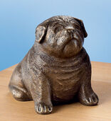 "Sculpture ""Pug"" Bronze"