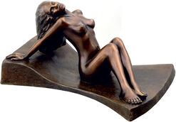 "Skulptur ""Euphrosyne"", Version in Bronze"
