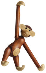 "Holzfigur ""Affe"" (groß, Höhe 46 cm)"