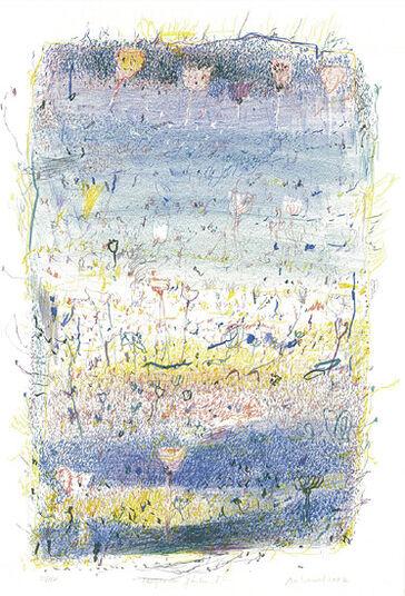 """Falko Behrendt: Bild """"Hängende Gärten I"""" (2002), ungerahmt"""