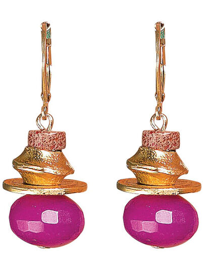 "Petra Waszak: Earrings ""Henriette"""