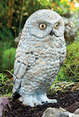 "Garden Sculpture ""Snow Owl"", bronze"